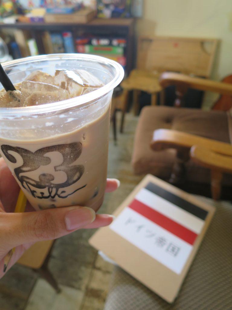 カフェモカのアイス
